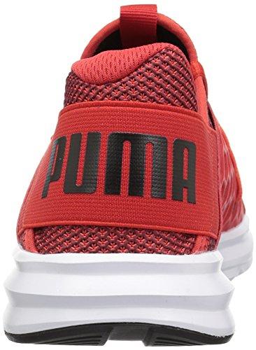 Puma Mens Enzo Nf Sneaker Flame Scarlet Tyst Skugga Puma Black