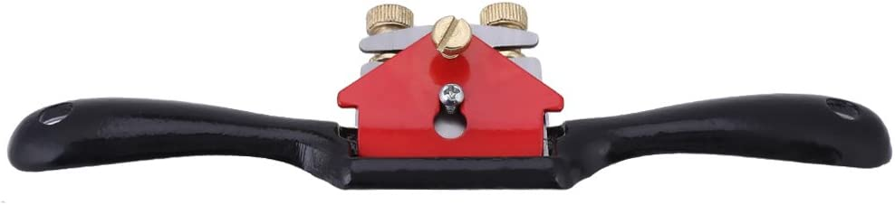 9 Inch Adjustment Woodworking Cutting Edge Plane Spokeshave Hand Trimming Tool with Screw Hand Planer