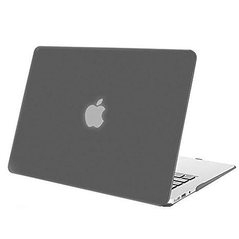 MOSISO Funda Dura Compatible MacBook Air 11 Pulgadas (A1370 / A1465), Ultra Delgado Carcasa Rígida Protector de Plástico Cubierta, Gris