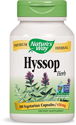 - Nature's Way Premium Herbal Hyssop Herb 450 mg, 100 Vcaps