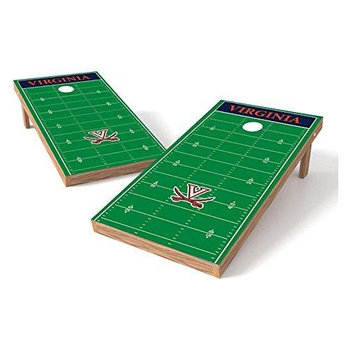Wild Sports NCAA College Virginia Cavaliers 2' x 4' Football Field Authentic Cornhole Game Set [並行輸入品]   B07FDQZRMS