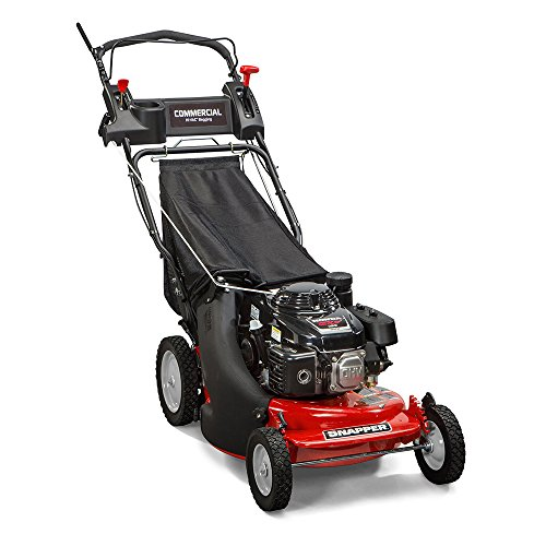 Commercial Engine - Snapper CP215520HV / 7800849 HI VAC 3-N-1 Rear Wheel Drive Variable Speed Commercial Series Lawn Mower with 163cc Honda GXV160 Engine, 21-Inch Deck and 7 Position Height-of-Cut