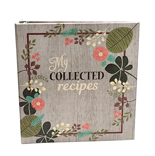 Meadowsweet Kitchens Create Your Own (Fabric Covered) Collected Recipes Cookbook, Vintage Flowers design (Kitchens Meadowsweet)