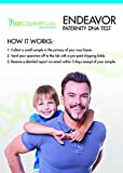 Endeavor DNA Paternity Test Kit, Buccal Swab, Lab Fees Included (Non Legal)