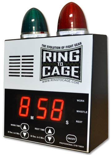 Ring to Cage Pro Digital Timer for Muay Thai, MMA, Kickboxing, Boxing, Martial Arts