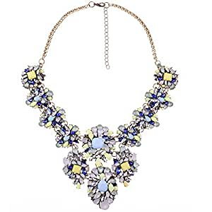 Amazon.com: PSNECK Big Statement Collar Necklace Necklace