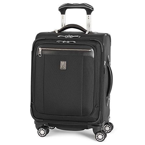 Travelpro Platinum Magna 2 International Carry-On Expandable Spinner Carry-On Suitcase, 20-in., Black