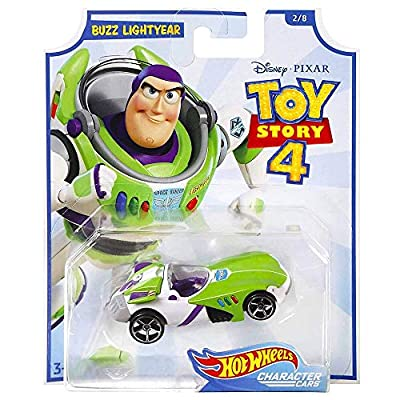 Hot Wheels Toy Story 4 Buzz Lightyear Character Car: Toys & Games