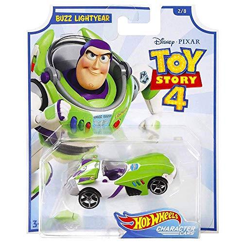 [해외]Hot Wheels Toy Story 4 Buzz Lightyear 캐릭터 자동차 / Hot Wheels Toy Story 4 Buzz Lightyear Character Car