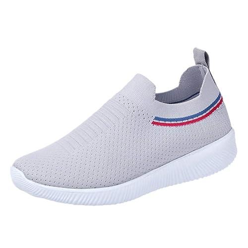 Mesh Sportschuhe Damen Sommer Herbst Schuhe mit Schnürung