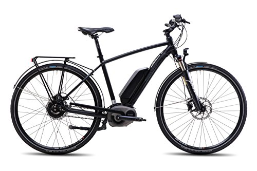 Steppenwolf Men's Haller E1 Electric Bicycle, Shadow Matte, 20 in.