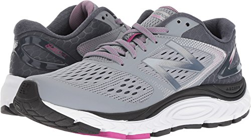 New Balance Women's 840v4 Running Shoe, Light Grey, 8 B US