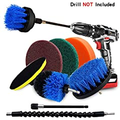 Souleader Power Crubber Drill Brush Cleaning Set, Flexbile, Convenient and Efficient!        Clean Any Surface Deep-clean virtually any surface in your home or office with souleader drill brush set. The drill brushes are perfect for gr...