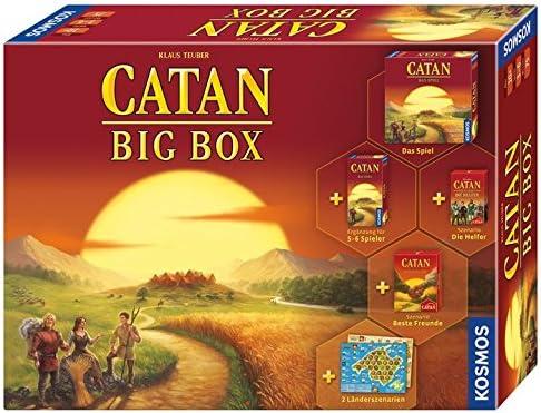 KOSMOS Catan 693725 - Big Box (versión en alemán): Teuber, Klaus ...