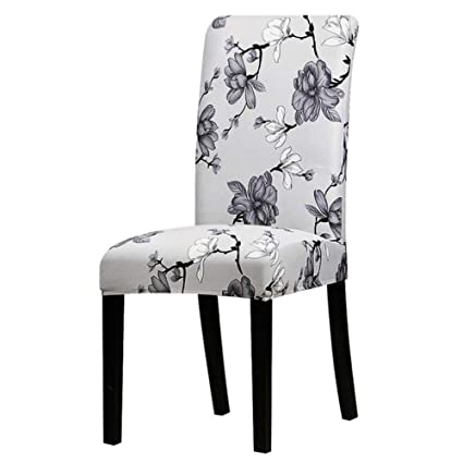 Hakazhi Inc Printing Zebra Stretch Chair Cover Big Elastic Seat Chair Covers Painting Slipcovers Restaurant Banquet Hotel Home Decoration (Grey ...
