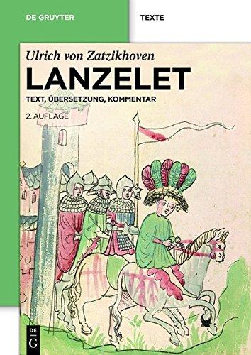 Lanzelet: Text – Übersetzung – Kommentar. Studienausgabe (de Gruyter Texte)
