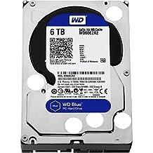 """WESTERN DIGITAL WD60EZRZ Blue 6TB Desktop Hard Disk Drive-5400 RPM SATA 6 Gb/s 64MB Cache 3.5"""""""
