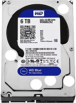 Western Digital WD60EZRZ 6TB Internal Hard Drive
