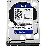 WD Blue 6TB Desktop Hard Disk Drive - SATA 6 Gb/s 64MB Cache 3.5 Inch - WD60EZRZ