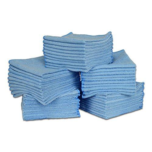 Blue Microfiber Towel - 12