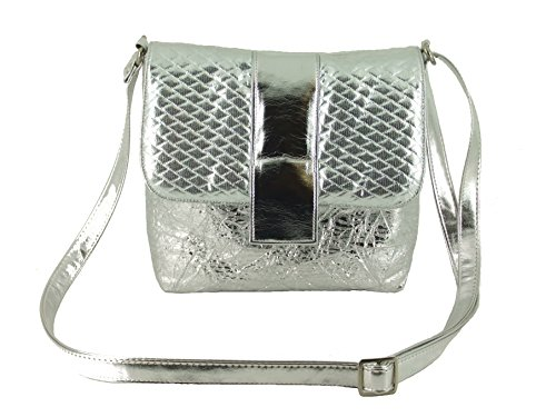 LONI Silver Desire LONI Bag Desire Cross Shoulder Body OwS6RxPTqw