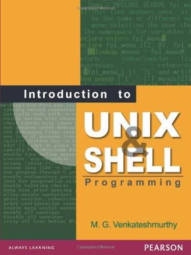 Introduction to Unix and Shell Programming by Pearson Education Canada