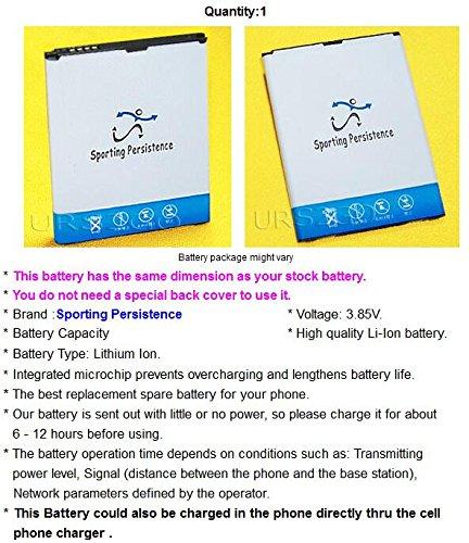 USA Seller 3400mAh 3.85V Standard Li-ion Battery for Verizon LG Stylo 2 V VS835 Android Phone - Sporting Persistence