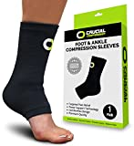 Ankle Brace Compression Support Sleeve (1 Pair) - Best Reviews Guide
