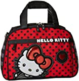 Hello Kitty SANTB0767 Weekender,Red/Black/White/Grey,One Size, Bags Central