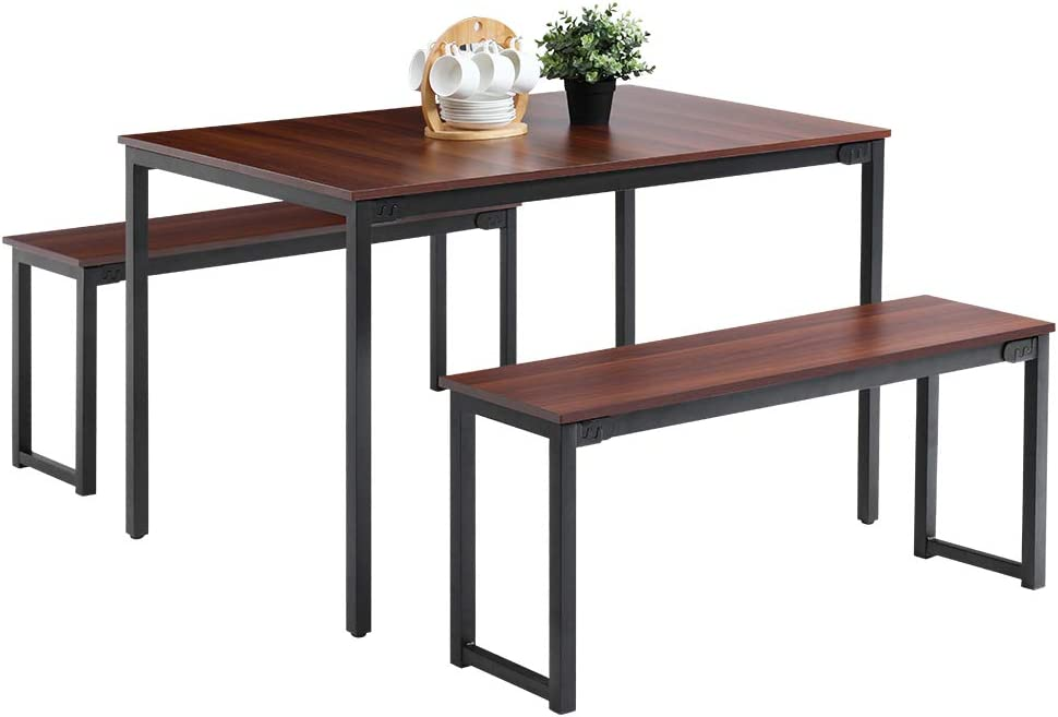 Amazon Com Oudort Dining Room Table Set Modern Soho Dining Table