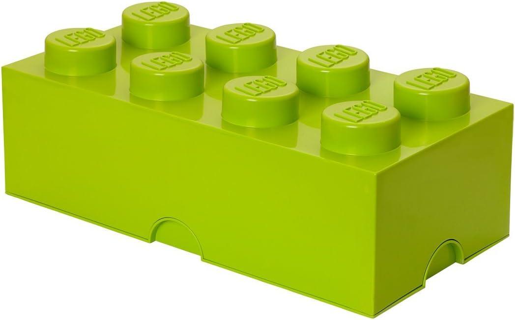 LEGO Storage Brick 8 Lime Green