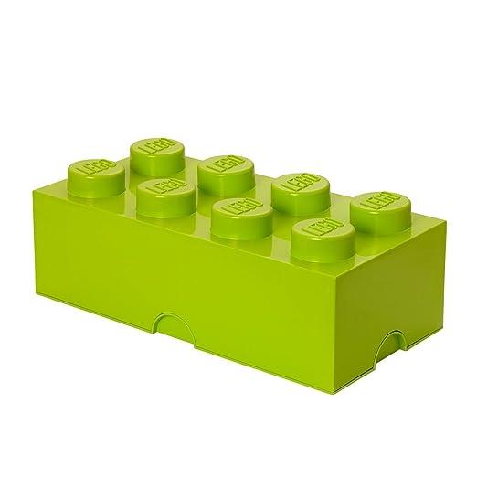 197 opinioni per LEGO- Scatola porta giochi impilabile a forma di mattoncino Lego da 8, colore: