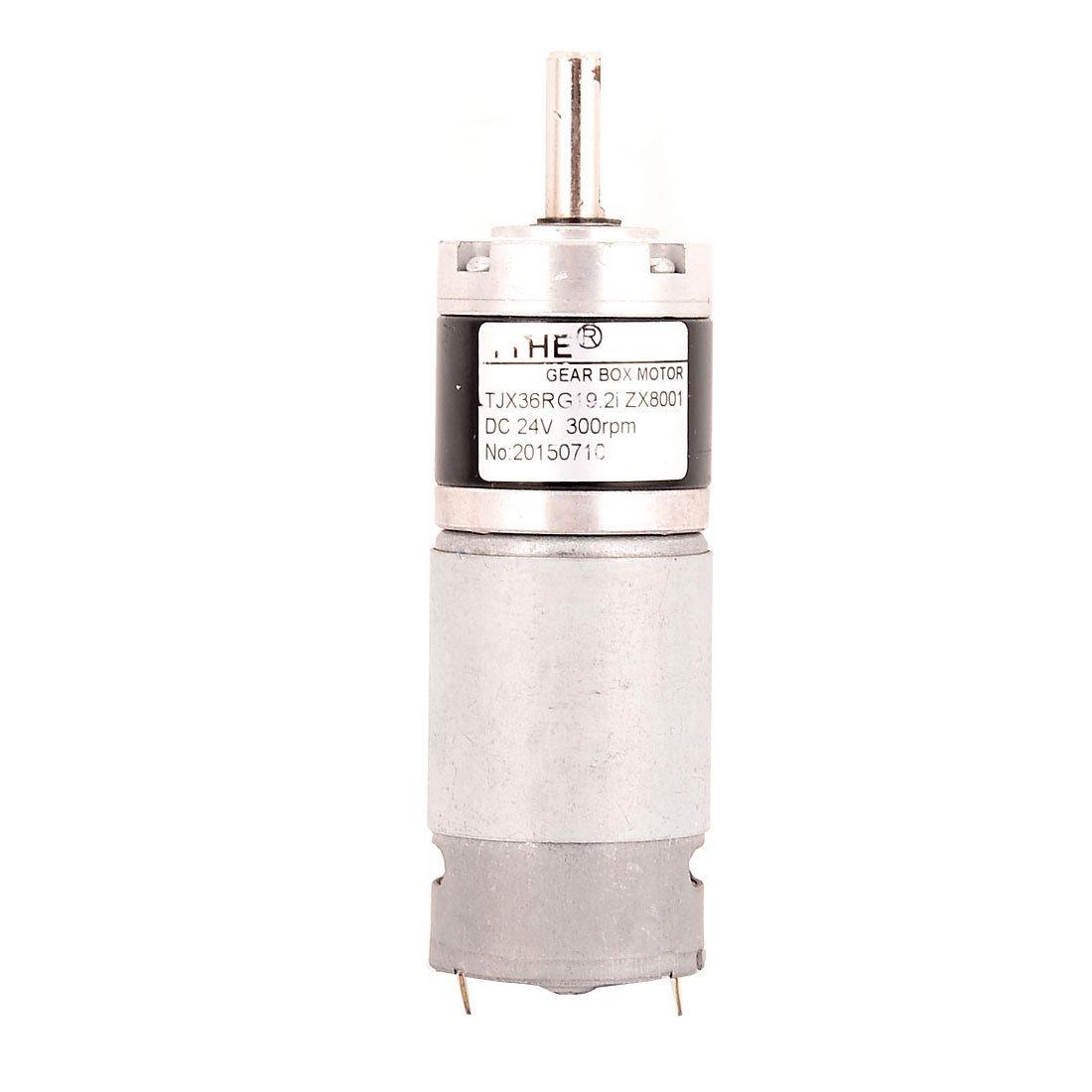 DealMux a16010600ux0096 DC 24V 300 rpm High Torque 8 mm Eixo Di Amp, baixa velocidade de solda Gear Box Motor