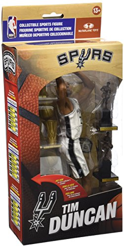 McFarlane Toys NBA Tim Duncan Limited Edition Collector Box Figure (100 Best Nba Players Of All Time)