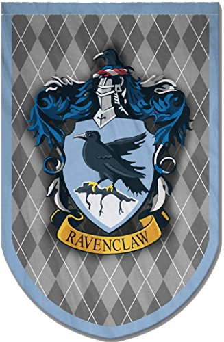 Harry Potter Style Banner - Ravenclaw Flag 37x24 in - Printed on Both Sides - Durable Enough for Outside Conditions - Perfect Barware Man Cave Gift - Unique HP Collectible Accessories -