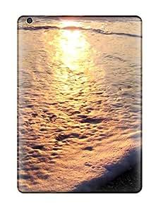 6177113K59436345 Protective Tpu Case With Fashion Design For Ipad Air (beach)