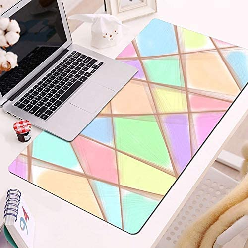 Color : 6, Size : 400x900mm SeSDY Mouse Pad Large Size Desktop Keyboard Pad Non-Slip Game Rubber Base Desktop Computer Laptop Keyboard Pad
