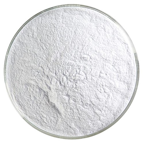 Light Neo-Lavender Shift Tint Transparent Powder Frit - 4oz - 90COE - Made From Bullseye Glass ()