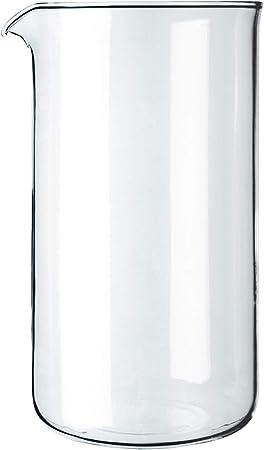 Bodum Spare Beaker Cristal de Repuesto, Centimeters, ø 9.6 cm: Amazon.es: Hogar