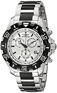Invicta Men's 6409 Python Collection Chronograph Stainless Steel and Gun Metal Watch