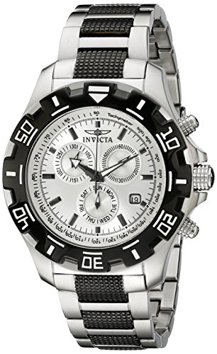 - Invicta Men's 6409 Python Collection Chronograph Stainless Steel and Gun Metal Watch