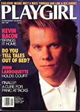 Playgirl Magazine Kevin Bacon (entertainment for women, May 1987)