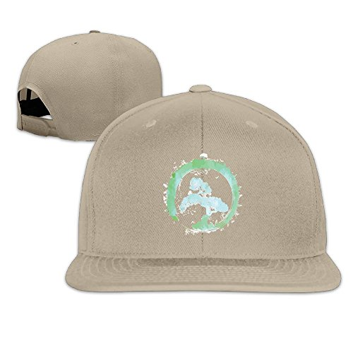 PYBQMAJ Japanese Bonsai Tree Enso Circle Art Flat Bill Snapback Hats Baseball Caps For Men Women