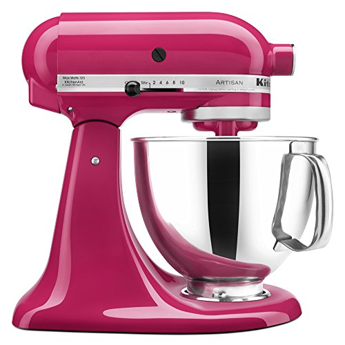 KitchenAid 5 Quart Artisan Stand Mixer - Cranberry Red