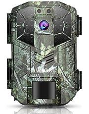 Wildkamera Fotofalle 16MP 1080P Jagdkamera mit Bewegungsmelder Nachtsicht IP66 Wasserdichte Überwach (H5-1)