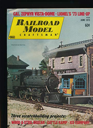 - Railroad Model Craftsman : Build Riford's Ice Company ; Santa Fe Wood and Steel Boxcar ; Using Miniature Bulbs for Class Lights; Cal. Zehyr Dome/Dormitory Buffet Loung; Cattle Ramp Elmvale Ontario