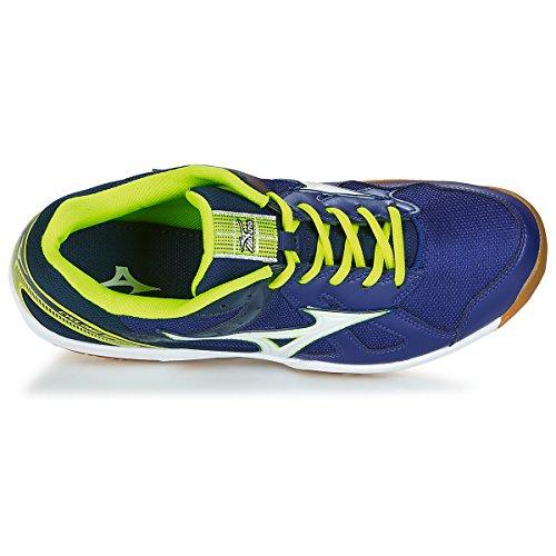 bleu flash Speed Cyclone jaune Mizuno Indoor Zapatillas SS18 blanc nCXFq5WxF