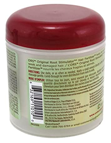 Ors Hair Fertilizer Jar 6 Ounce 177ml 6 Pack