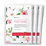 BeaLuz Foot Mask – Use After Exfoliating Feet Peel Masks, Hydrating, Nourishing, Refreshing – Heal, Soften & Protect Dry Rough Feet Review