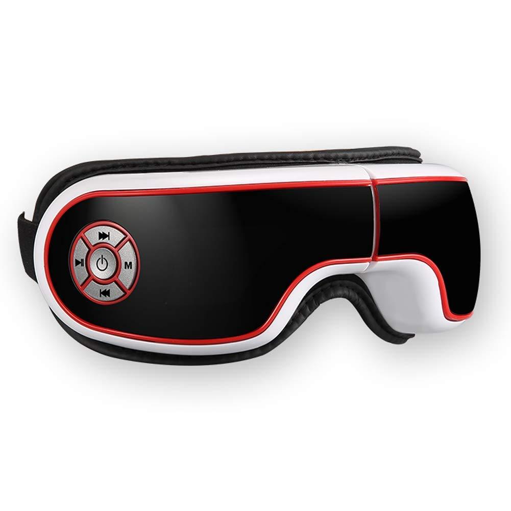 ワイヤレスアイマッサージ赤外線加熱アイ空気圧振動療法目ケアマッサージ眼電気マッサージインテリジェント循環圧力マッサージ   B07LG36LSC